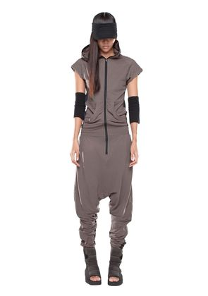ARCTURUS COTTON JERSEY JUMPSUIT