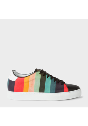 Men's 'Artist Stripe' Leather 'Basso' Trainers