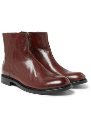 Paul Smith - Sullivan Polished-leather Boots - Red