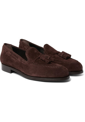 Paul Smith - Simmons Suede Tasselled Loafers - Brown