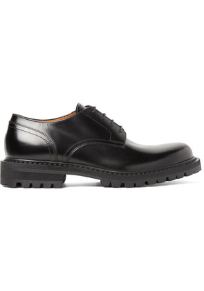 Dries Van Noten - Polished-leather Derby Shoes - Black