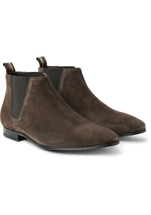 Paul Smith - Marlowe Suede Chelsea Boots - Dark brown