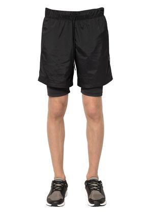 HYBRID 2 IN 1 RUNNING SHORTS