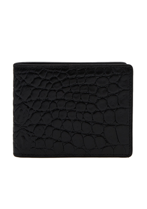 Dries Van Noten Croc Billfold Wallet