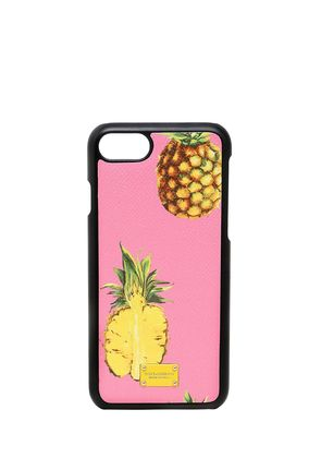 PINEAPPLES LEATHER IPHONE 7 CASE