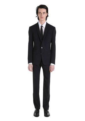 STRETCH WOOL TOILE SUIT