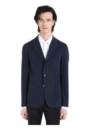 VENTO MASIN COTTON BLEND POPLIN JACKET