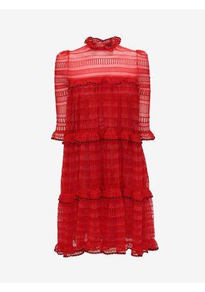 ALEXANDER MCQUEEN Mini Dresses - Item 34688365