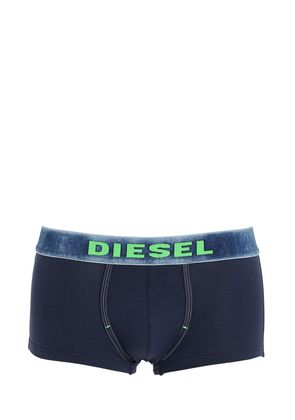 SPRAY PAINTED COTTON JERSEY BOXER BRIEFS