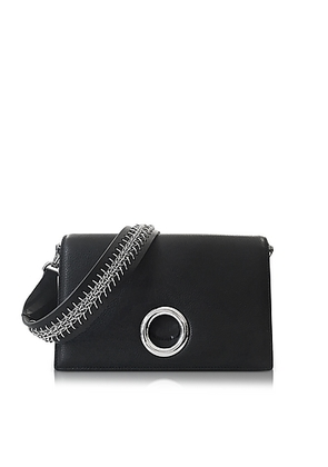 Alexander Wang - Black Leather Riot Convertible Clutch w/Chain Strap