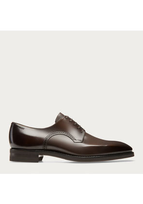Bally Scrivani Brown, Men s leather Derby in coffee