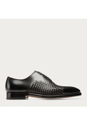 Bally Scalfor Black, Men s leather Oxford in black