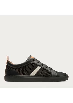 Bally Hegor Black, Men s calf leather sneaker in black