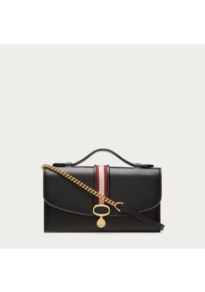 Bally Loire Black, Women s lamb leather minibag in black