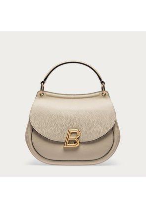 Bally Ballyum Large White, Women s calf leather bag in bone
