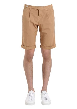 SLIM LIGHT GABARDINE STRETCH SHORTS