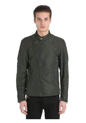 SOPHNET REBEL NYLON BIKER JACKET