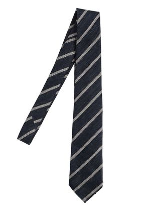 7CM REGIMENTAL COTTON & SILK TIE