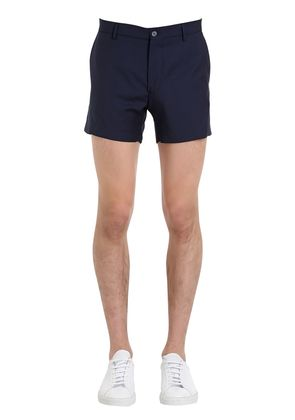 SLIM FIT COOL WOOL SHORTS