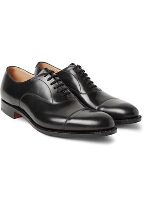 Church's - Dubai Polished-leather Oxford Shoes - Black