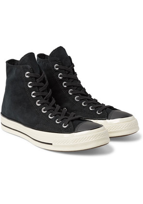Converse - 1970s Chuck Taylor All Star Corduroy High-top Sneakers - Black