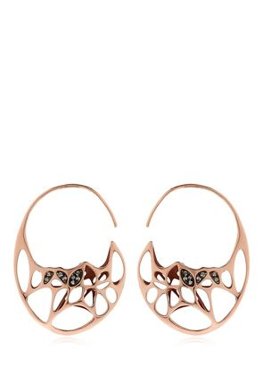 GODA ROSE GOLD PLATED & DIAMOND EARRINGS