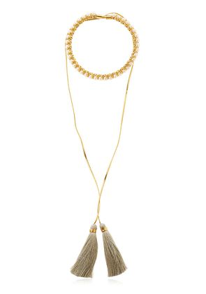 THE SWINGING ALMA COLLAR NECKLACE