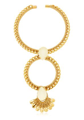 THE BACCHUS HOOP COLLAR NECKLACE