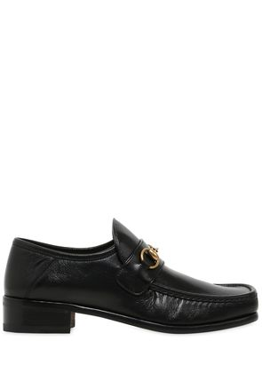 30MM VEGAS LEATHER HORSE BITE LOAFERS