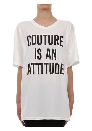 OVERSIZED PRINTED COTTON JERSEY T-SHIRT