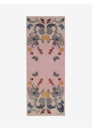 ALEXANDER MCQUEEN Fashion Scarves - Item 46499663
