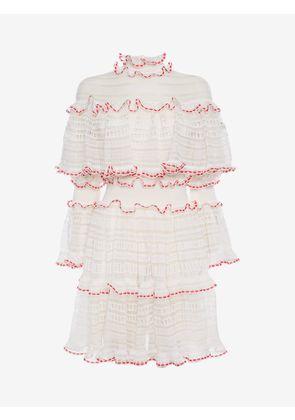 ALEXANDER MCQUEEN Mini Dresses - Item 34688366