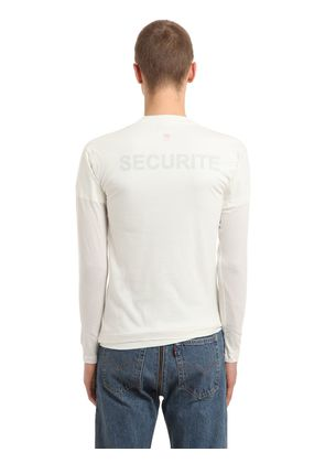 HANES SECURITE JERSEY DOUBLED T-SHIRT