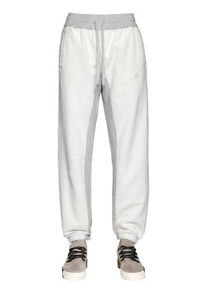 REVERSED COTTON SWEATPANTS
