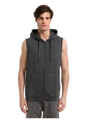 STRUCTURE HOODED MID LAYER RUNNING VEST