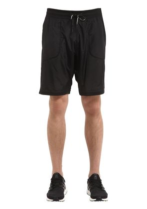 ELEVATE SWEAT SHORTS WITH JERSEY INSERT