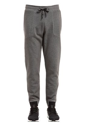TECH COTTON BLEND SWEATPANTS