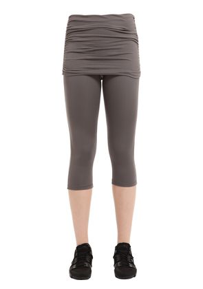 CASSIDY CAPRI YOGA LEGGINGS W/ SKIRT