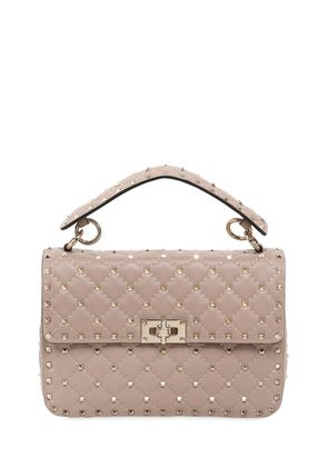 MEDIUM SPIKE QUILTED LEATHER BAG
