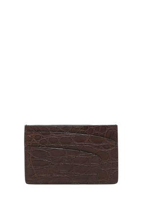 HANDMADE ALLIGATOR CARD HOLDER