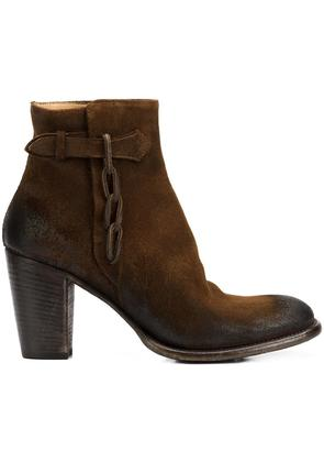 Silvano Sassetti - zipped ankle boots - women - Leather - 38, Brown