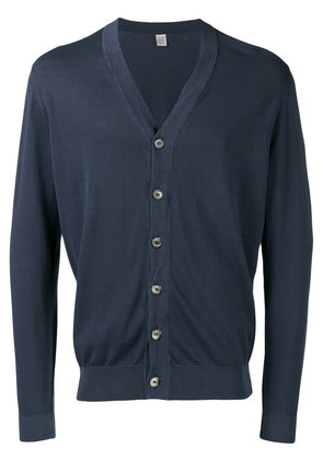 Eleventy - V-neck cardigan - men - Cotton - L, Blue