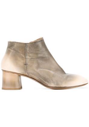 Silvano Sassetti - mid heel ankle boots - women - Leather/rubber - 38, Green