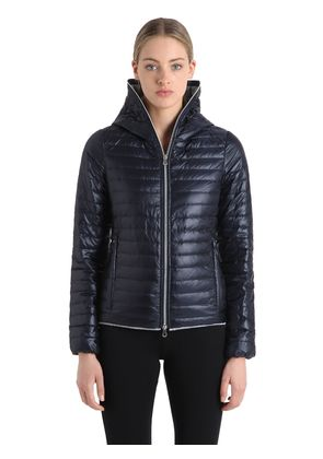 EERIA QUILTED RIPSTOP NYLON DOWN JACKET