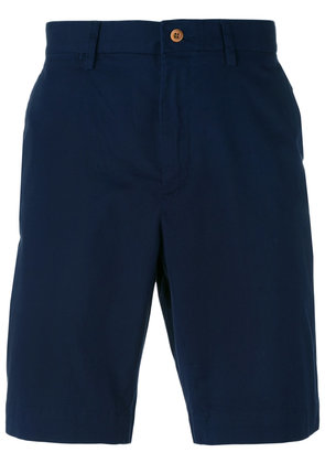 Polo Ralph Lauren - deck shorts - men - Cotton/Spandex/Elastane - 36, Blue