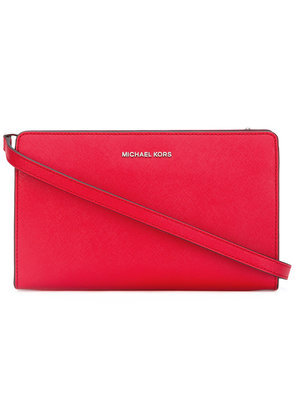 Michael Michael Kors - classic cross-body bag - women - Leather - One Size, Red