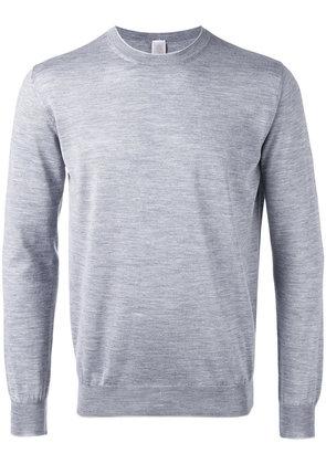 Eleventy - light knit sweater - men - Silk/Merino - XXL, Grey