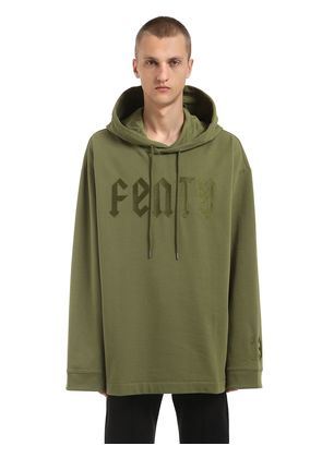 OVERSIZED FENTY COTTON SWEATSHIRT